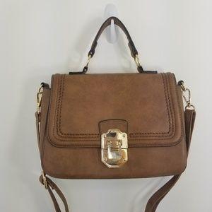 Aldo saddle crossbody/shoulder/handbag satchel